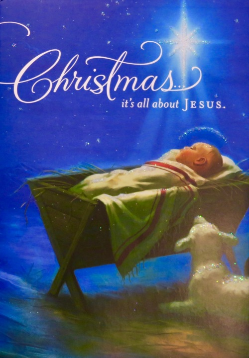 christmas-card-depicting-jesus-in-manger