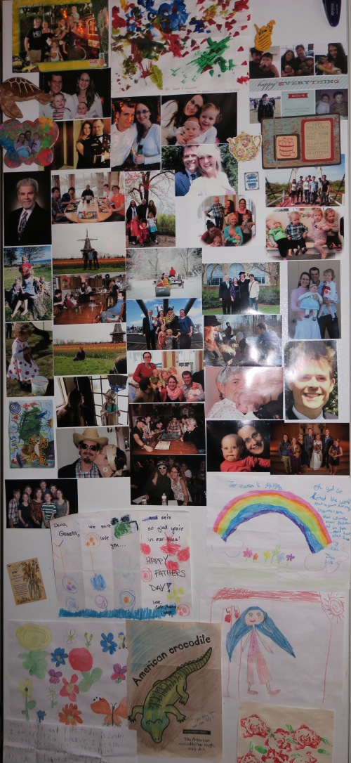 refrigerator-full-of-photos-and-drawings-2016