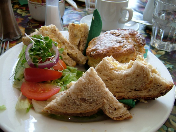 egg-salad-sandwiches-and-scones