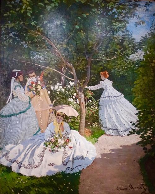 musee-dorsay-claude-monet-1866-femmes-au-jardin