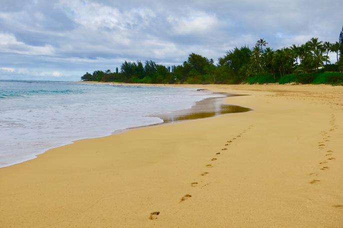 quiet-beaches-near-hanalei-kauai