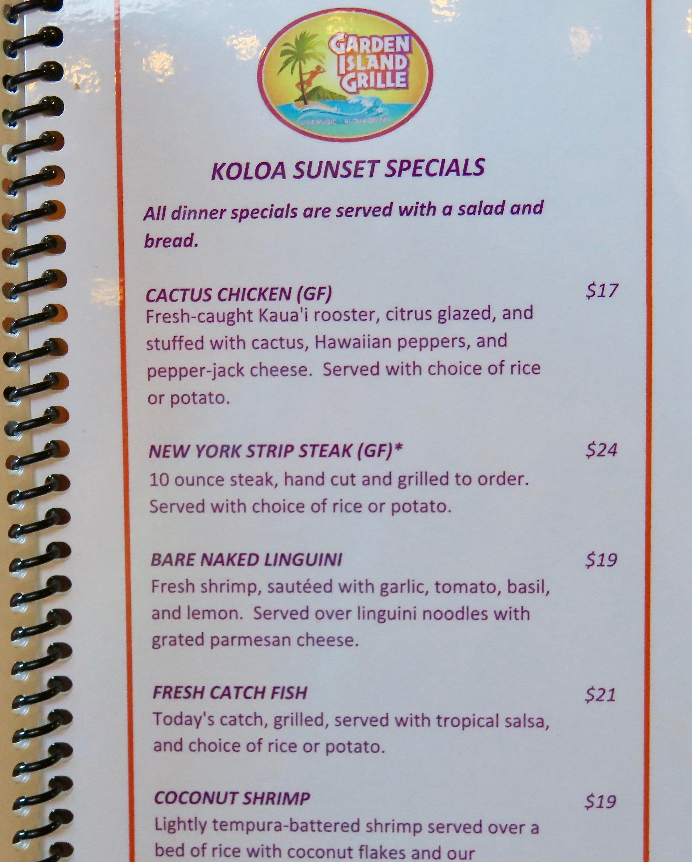 menu-offering-feral-chicken-in-kauai