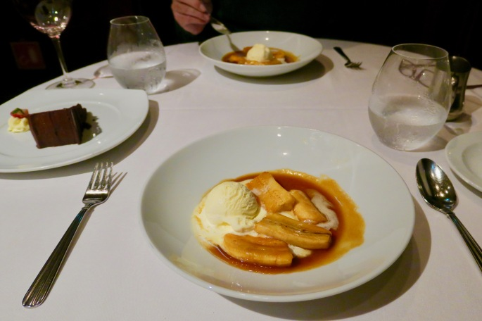 Bananas Foster on Celebrity Cruise