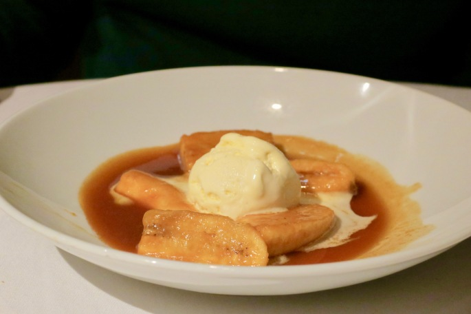 Bananas Foster on Celebrity Summit Cruise
