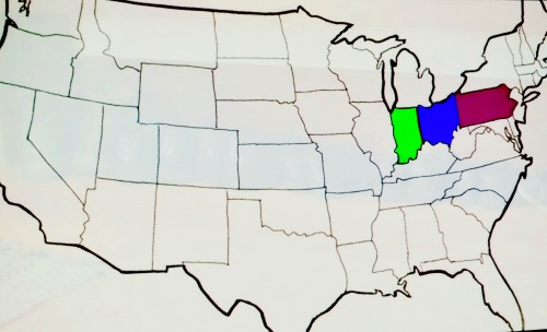 Amish Communities In Usa Map.How Many Amish People Live In America Summer Setting